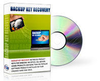 Backup Key Recovery - Recover Product Keys from a Crashed Hard Drive