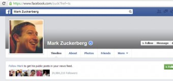 Mark Zuckerberg Facebook profile hacked